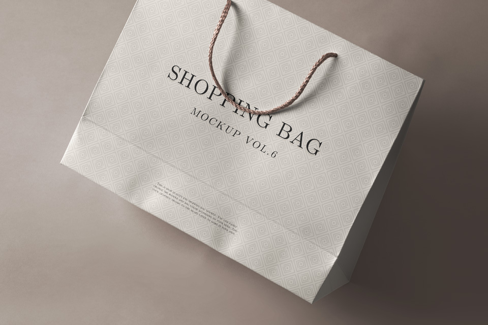 Transparent and white plastic or foil bag with hang hole free vector mock up,. 65 Free Professional Shopping Bag Mockups And Premium Version Free Psd Templates