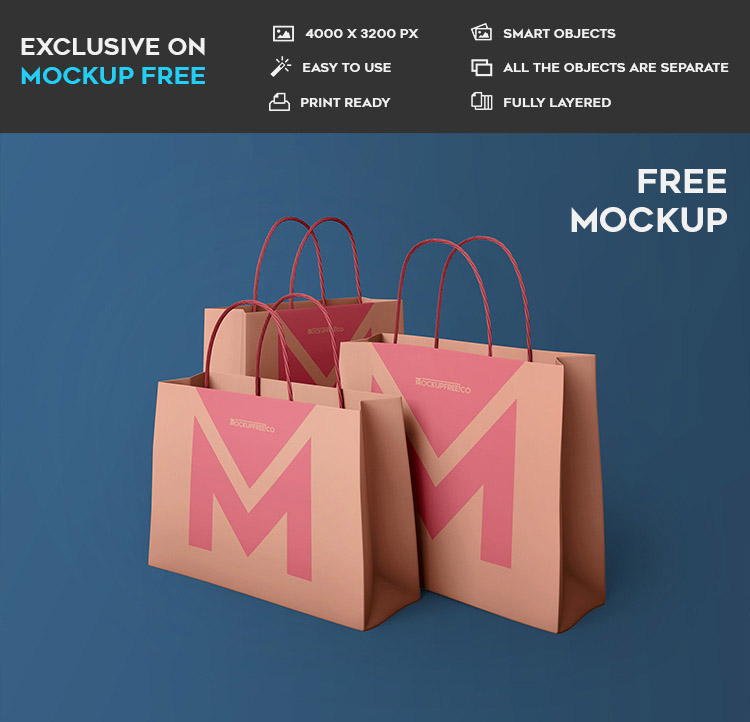 You can also animate items and create videos. 65 Free Professional Shopping Bag Mockups And Premium Version Free Psd Templates