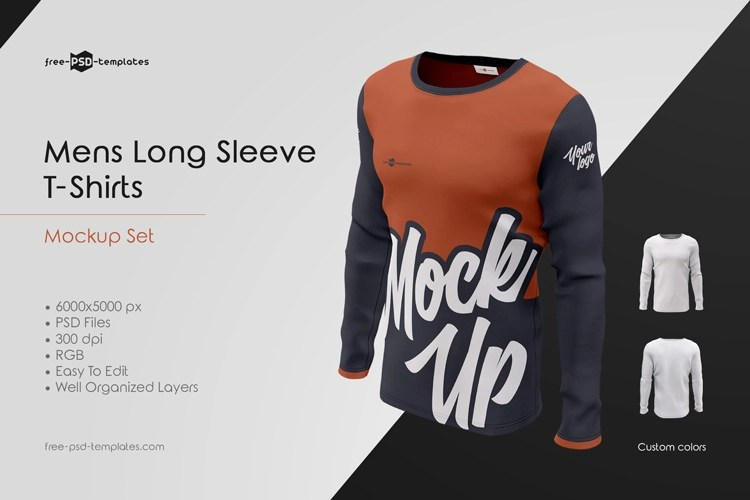 Recently, my friend tina complained that she couldn'. Mens Long Sleeve T Shirts Mockup Set Free Psd Templates