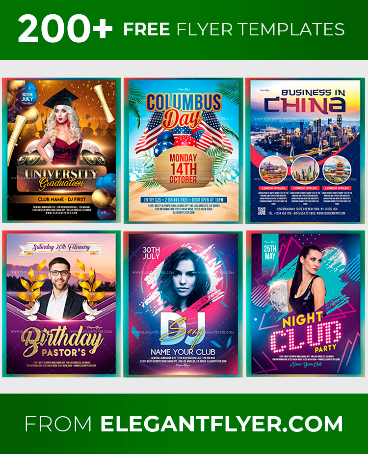 114 free flyer templates in psd best
