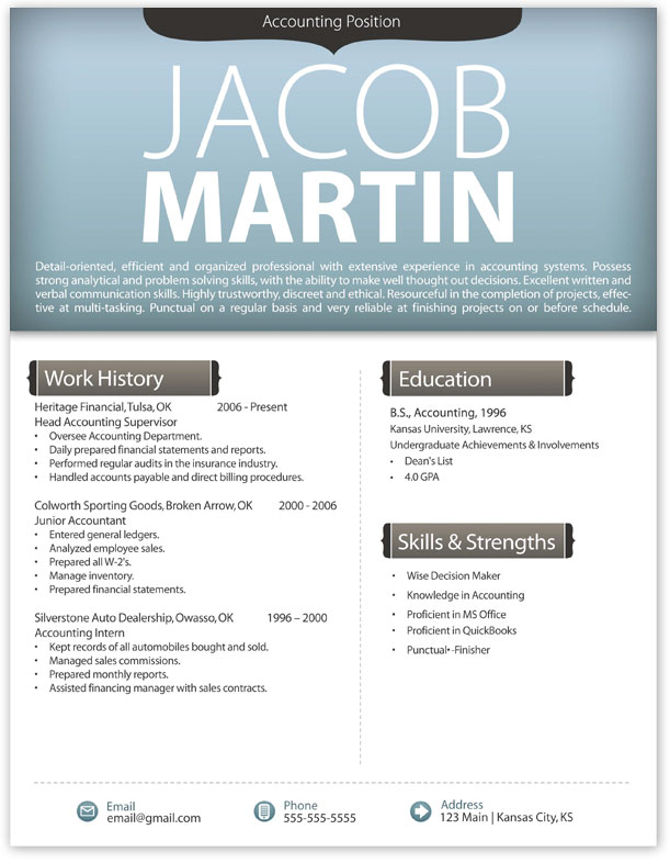 Modern Resume Templates Free Related To Design Multimedia Print
