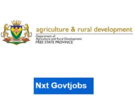 Vacancies in Free state Department of Rural Development 2021   ARD jobs Bloemfontein   Apply Online @ard.fs.gov.zaRecruitment Portal