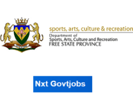 Free state Department of Sport, Recreation, Arts and Culture Vacancies 2021 | Government jobs in Bloemfontein | Apply Online @sacr.fs.gov.zaRecruitment Portal