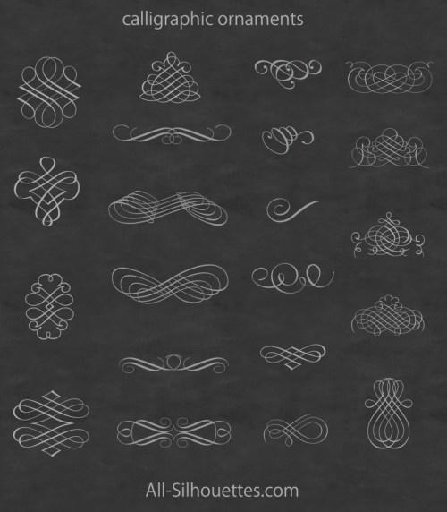 calligraphic-ornaments-free-vector-500x572