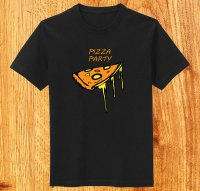 Vector Funky Pizza T-shirt Design | Download Free Vector ...