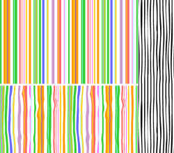 Stripes Seamless Pattern Adobe Illustrator Swatches