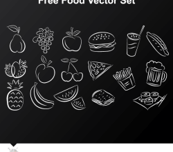 Free Food Vector Set