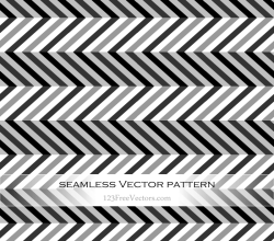 Black and Grey Chevron Abstract Pattern Background