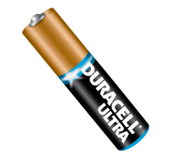 Vector Duracell Battery