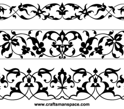 Typographic Ornamental Vignettes Vector