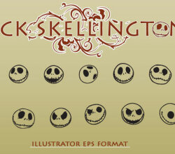 Vector Art Jack Skellington