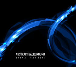 Vector Modern Glowing Background Free Vector