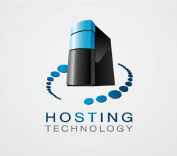 Hosting Logo Vector 02