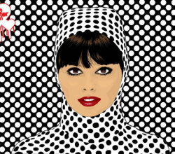 Pop Art Girl Vector