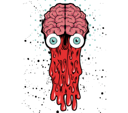 Bad Brain – Vector T-shirt Design