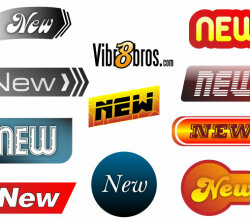 New Badges Vector