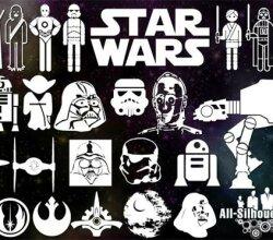 Star Wars Free Vector Symbols