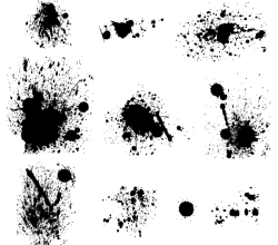 Splatters Vector Pack