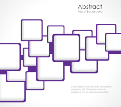 Modern Abstract Squares Background Template Vector Art