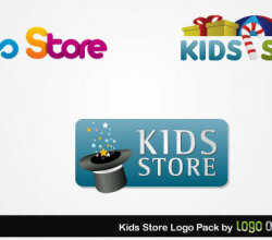 Kids Store Logo Pack