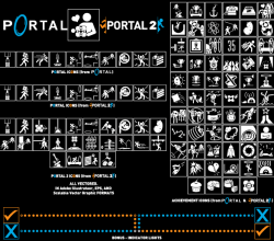 Vectored Portal Icons