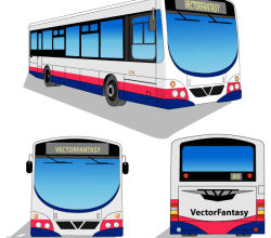 Free City Bus Vector