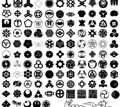 Japanese Traditional Elements Free Vector Set