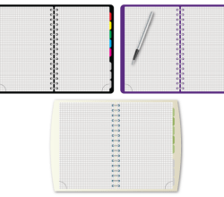 Vector Spiral Notebook