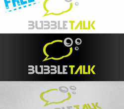 Vector Bubble Talk Logo