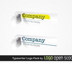 Typewriter Logo Pack