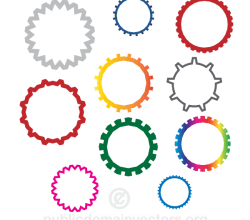 Gear Wheels Vector Images