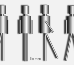 Tin Man Free Vector Illustration