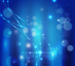 Abstract Blue Light Background Vector Graphic