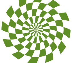 Spiral Optical Illusion Vector Free