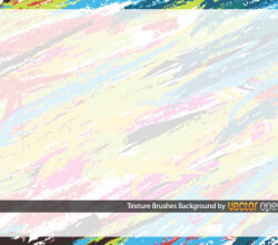 Texture Brushes Background Vector