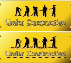 Vector Construction Worker Silhouettes