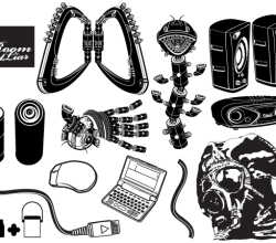 Black White Vector Pack
