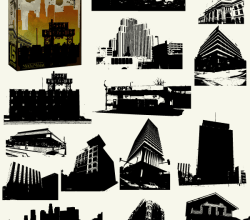 Buildings Vector Pack Free – Skyscrapers, Skylines & Old Buildings