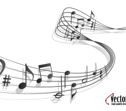 Vector Art Music Notes