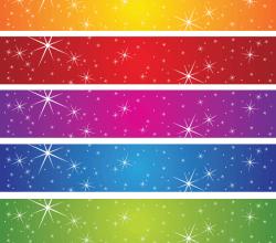 Vector Stars Banner