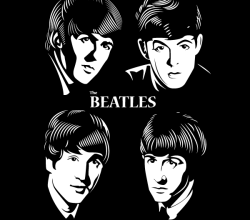 Beatles Vector Image