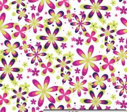 Free Seamless Flower Pattern