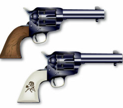 Colt Six Shooter Vectors Free