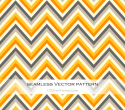 Seamless Zigzag Pattern Vector Free
