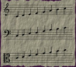 Vector Graphic Musical Notes