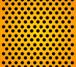 Vector Orange Carbon Background Design