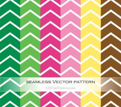 Colorful Chevron Pattern Vector