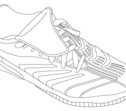 Vector Adidas Shoe Image