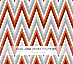 Free Retro Zigzag Pattern Vector Art