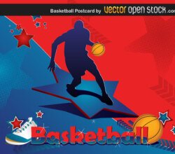 Basketball Postcard